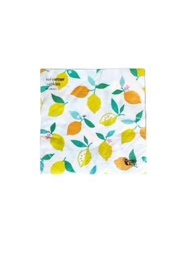 LWP Shop Atelier Amalfi Limon Peçete Sarı